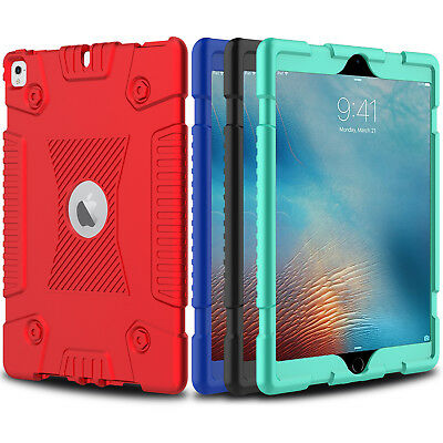 For iPad 6th Generation 9.7'' 2018 Case Hybrid Shockproof Defender Armor Cover