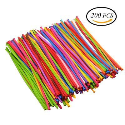 CCINEE 200pcs Modelling Balloons Long Magic Balloons Assorted Colours