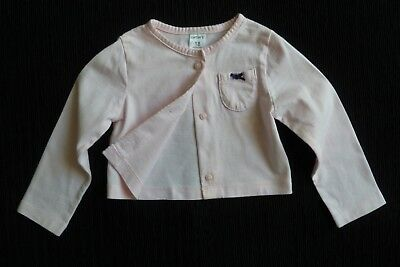 Baby clothes GIRL 12-18m cotton material cardigan/indoor,light jacket  SEE SHOP