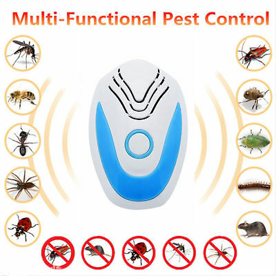 PEST REJECT REPELENTE ANTI MOSQUITOS INSECTOS HORMIGAS ARAÑAS Ultrasonic Insect