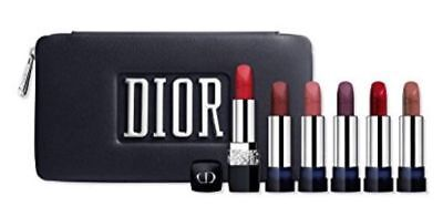 Dior Rouge Precious Rocks Lipstick Holiday Set Limited Edition Authentic Sealed