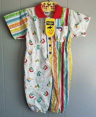 Vintage OshKosh Jumpsuit Boy Girl NOS NWT