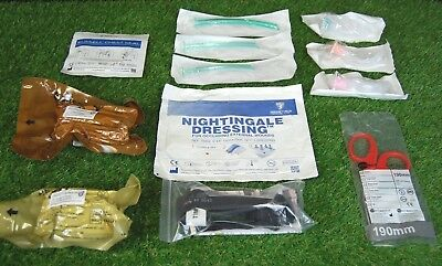 Military and Survival Airway & Advanced Haemorrhage Control Kit - Ref 999