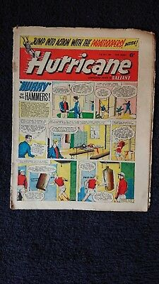 HURRICANE PAPER COMIC MAGAZINE 11th JULY 1964 WEEKLY FLEETWAY PUBLICATIONS