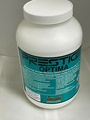 Prestige Optima Premium Investment Powder Resin Cast Lost Wax 50 lb Sack
