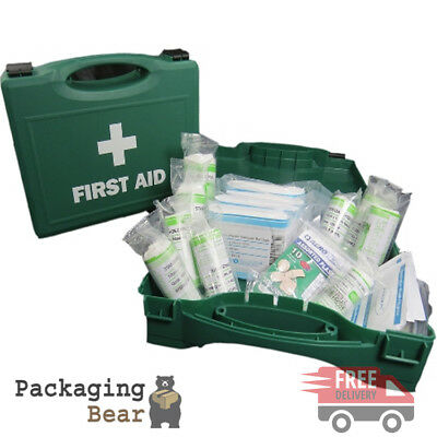 1 x QUALITY HSE APPROVED FIRST AID KIT FOR 10 PERSONS WORKPLACE | FREE P&P
