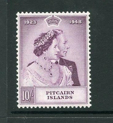 Pitcairn Islands 1948 Silver Wedding Set 10s SG12 MNH - see desc