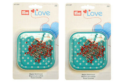 Prym Love Magnetic Pin Cushion - Twin Pack