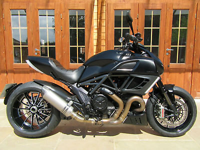 2013/13 Ducati Diavel 1200 Dark Stealth - ONLY 5100 MILES, FSH, IMMACULATE!!