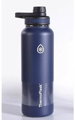 720c159b0e ThermoFlask Vacuum Insulated Stainless Steel 24oz Water Bottle 24hrs Cold