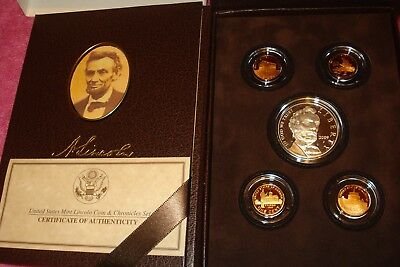 2009 United States Mint Lincoln Coin And Chronicles Set Omp & Coa Free Shipping