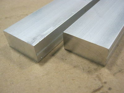 "2"" x 3"" x 12"" 6061 Aluminum Flat Bar/Bar Stock Mill Stock 12"" Length"