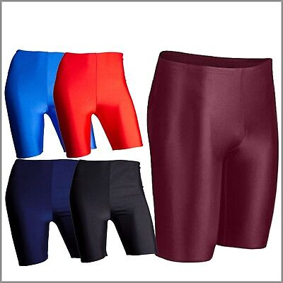 Ladies Womens Girls Super Stretch Shinning Lycra Cycling Shorts Dancing Bike Gym