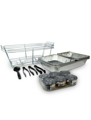 Catering Chafer Set Serving Disposable Party Safe Heat Chafing Fuel Work Party