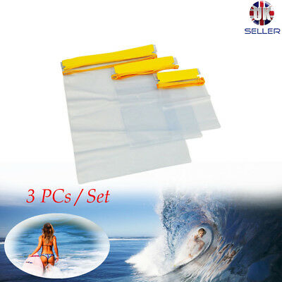 Waterproof Dry Bags For Camera Mobile Phone Pouch Backpack Kayak Military S M L