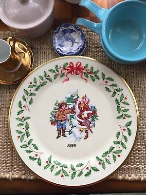 Lenox Annual Christmas Collectors Plate 1995