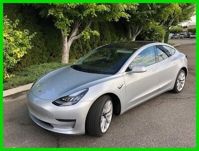 Tesla Model 3 Long Range 2018 Tesla Model 3 Long Range, Electric,Automatic RWD,Auto Pilot,Panoramic Roof