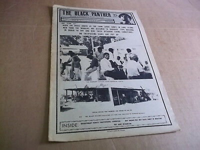 Black Panther newspaper  August  1, 1970 Huey Newton  VG+