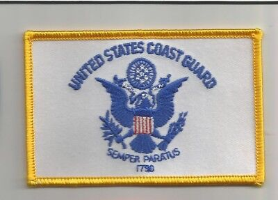 United States Coast Guard USCG advertising patch 2-1/4 X 3-1/2 #2453
