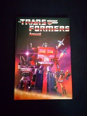 The Transformers Annual 1985 Vintage Film/TV Hardback