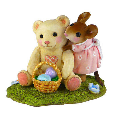 TEDDY'S EASTER HUG by Wee Forest Folk, WFF# M-522 Retired