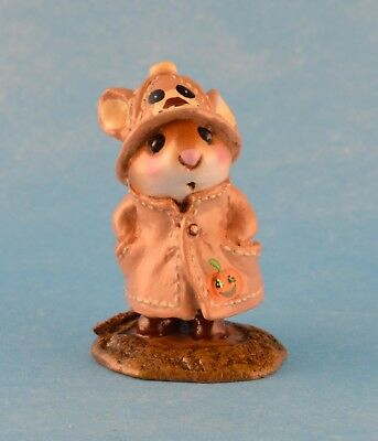 APRIL SHOWERS by Wee Forest Folk, M-180, Fall Bear, Folktoberfest 2011 Exclusive