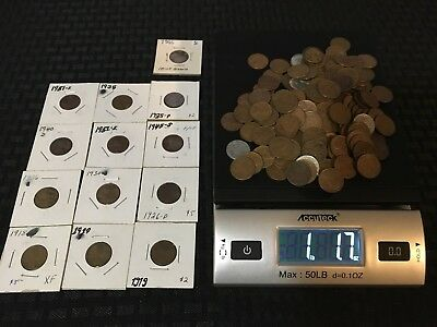 1+ LB Unsearched Wheat Cents PLUS 12 Harder-to-Find Cents AND an Error!