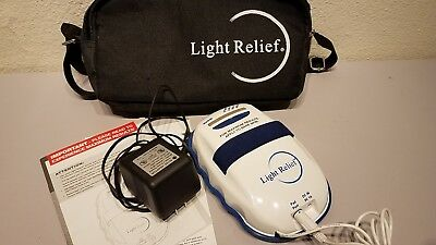 Light Relief LR150 Infrared Joint Muscle Pain Reliever Therapy w/ Power Supply