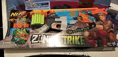 Nerf Zombie Strike Sledgefire Blaster New In Box