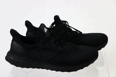 best website f909d 77203 ADIDAS ULTRABOOST Uncaged Hypebeast Black Gray Primeknit Lace Up Sneakers  9.5