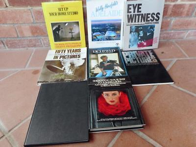 Vintage Hard Cover Photography Books Big Lot Photo Photo's Book Camera
