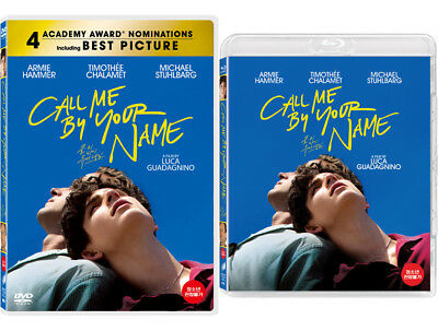 Call Me by Your Name (2018, DVD, Blu-ray)