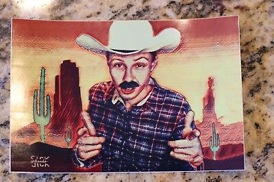 "Questionable Cowboy 4"" x 6"" Vinyl Sticker Sienna Grace Alter Ego"