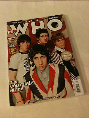 THE WHO 'UNCUT' THE ULTIMATE COLLECTOR'S EDITION 2016 UK Magazine
