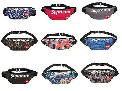 new supreme waist bag fanny pack outdoor sport pounch military hike crossbody