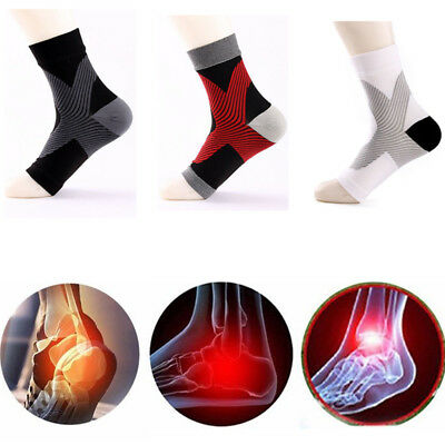 Ankle Support Brace Anklet Foot MMA Guard Gym Sock Protector Shin