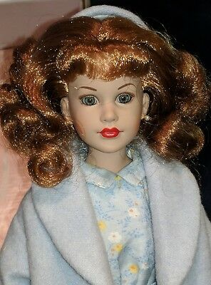 "KITTY COLLIER Red Head in ""Blue Heaven"" 2002 Robert Tonner Doll 1950 style"