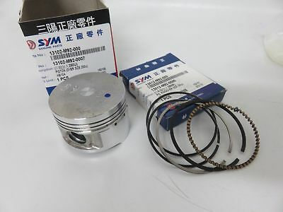 OEM SYM Megalo VS MX GR 125cc GY6 4T Engines 0.25 Over Size Piston & Rings