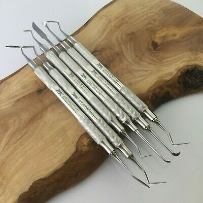 Set of 6 Carvers Restorative Instruments Germany Stainless Hu-Friedy price £186