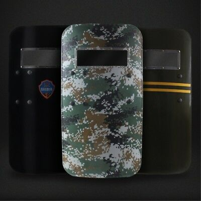 500x900x3mm Anti-Riot Shield Polycarbonate Safety Device For Police Tactical