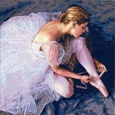 DIMENSIONS  GOLD COLLECTIONS  *BALLERINA BEAUTY*CROSS STITCH KIT  Kreuzstich-Sti