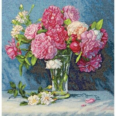 DIMENSIONS  GOLD COLLECTIONS  *MARYS BOUQUET*CROSS STITCH KIT  Kreuzstich-Stick