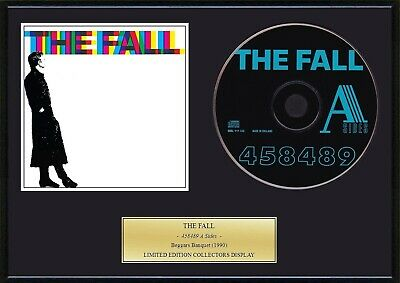 THE FALL - Framed CD Presentation Disc Display
