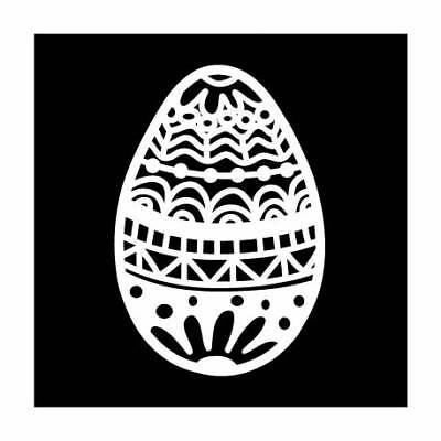 """TCW - The Crafters Workshop, Template 4x4"""" 10x10cm easter egg"""