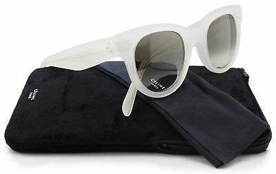 7830b9391f15 Celine 41053S Sunglasses Opal wBrown Degrade (0AYC) 41053 AYC Z3 47mm  Authentic