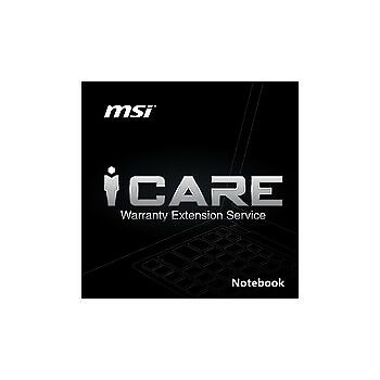 1Y Extension warranty card - ESTENSIONE GARANZIA MSI -