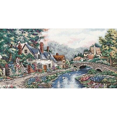 DIMENSIONS  GOLD COLLECTIONS  *VALLEY OF THE RIVER BECK*CROSS STITCH KIT  Kreuz