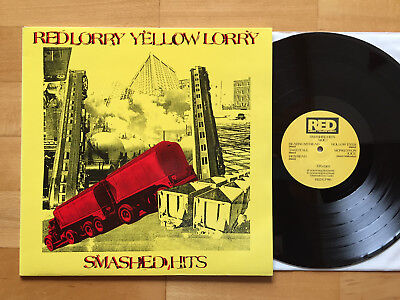 RED LORRY YELLOW LORRY Smashed Hits LP 1ST PRESS 1988 MINT-