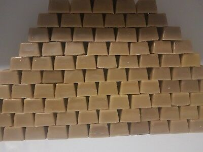 Beeswax Pure Organic 100 gram bars, Soap, Candle, Balm, Wraps, Bees Wax
