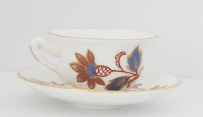 Crown Staffordshire Fine Bone China Miniature Cup And Saucer. England.